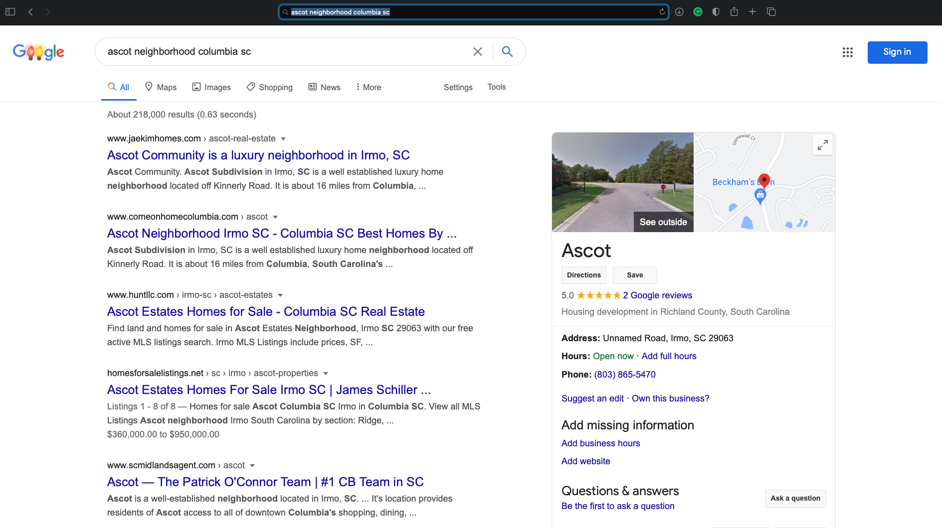 SEO for realtors and real estate
